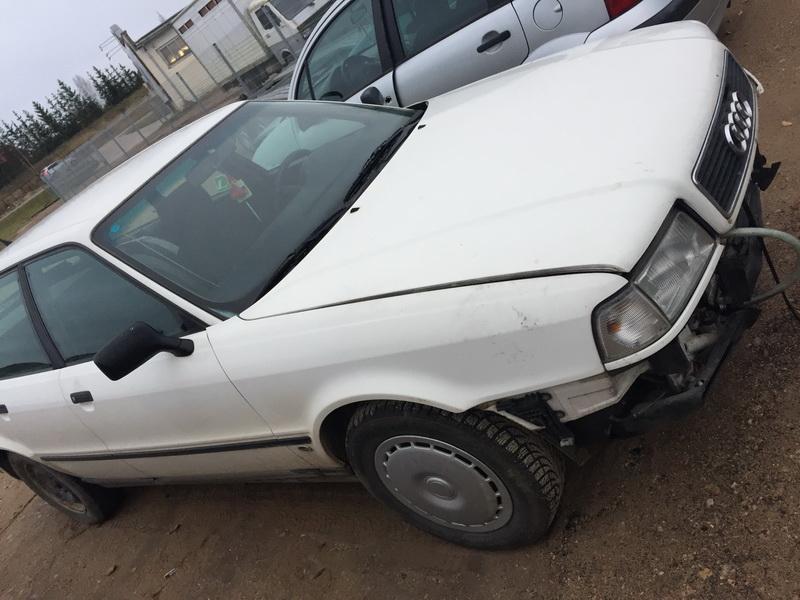 Naudotos automobiliu dallys Foto 1 Audi 80 1994 1.9 Mechaninė Universalas 4/5 d. Balta 2018-11-05 A4165