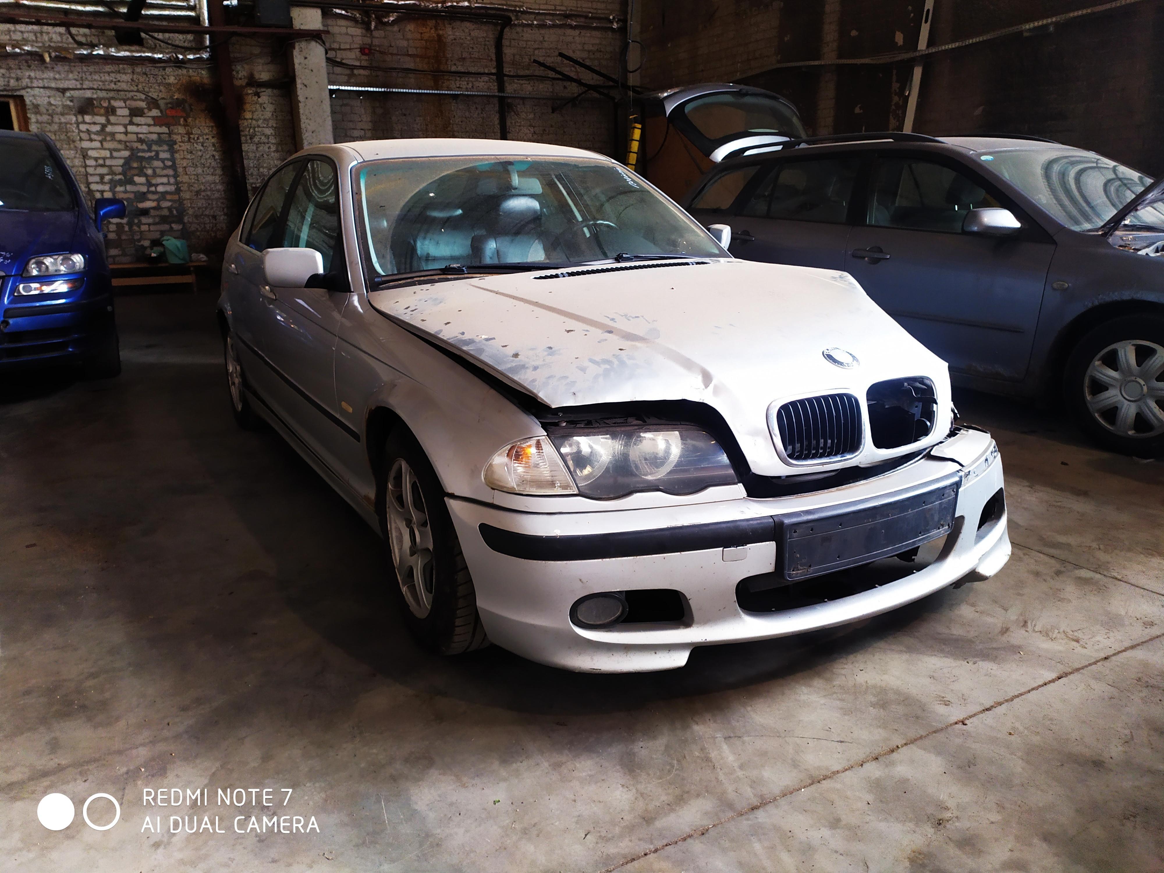 Naudotos automobilio dalys BMW 3-SERIES 1999 2 Mechaninė Sedanas 4/5 d. Sidabrine 2020-8-20