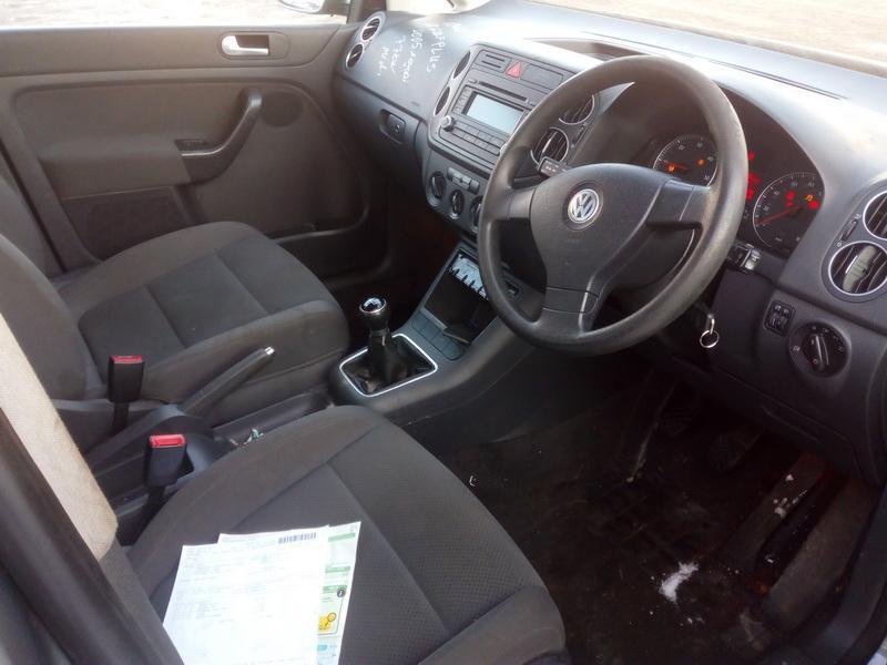 Naudotos automobiliu dallys Foto 5 Volkswagen GOLF PLUS 2005 1.9 Mechaninė Hečbekas 4/5 d. Pilka 2018-2-07 A3622