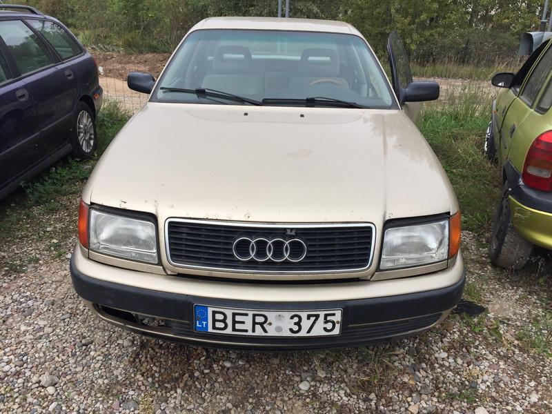 Naudotos automobilio dalys Audi 100 1991 2.3 Automatinė Sedanas 4/5 d. Geltona 2018-9-17