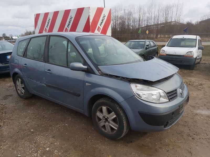 Naudotos automobiliu dallys Foto 1 Renault SCENIC 2004 1.9 Mechaninė Vienatūris 4/5 d. Pilka 2020-3-19 A5142