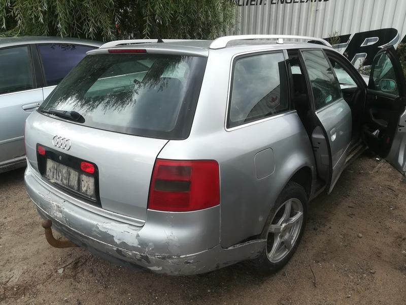 Naudotos automobilio dalys Audi A6 1998 1.9 Mechaninė Universalas 4/5 d. Sidabrine 2019-7-31