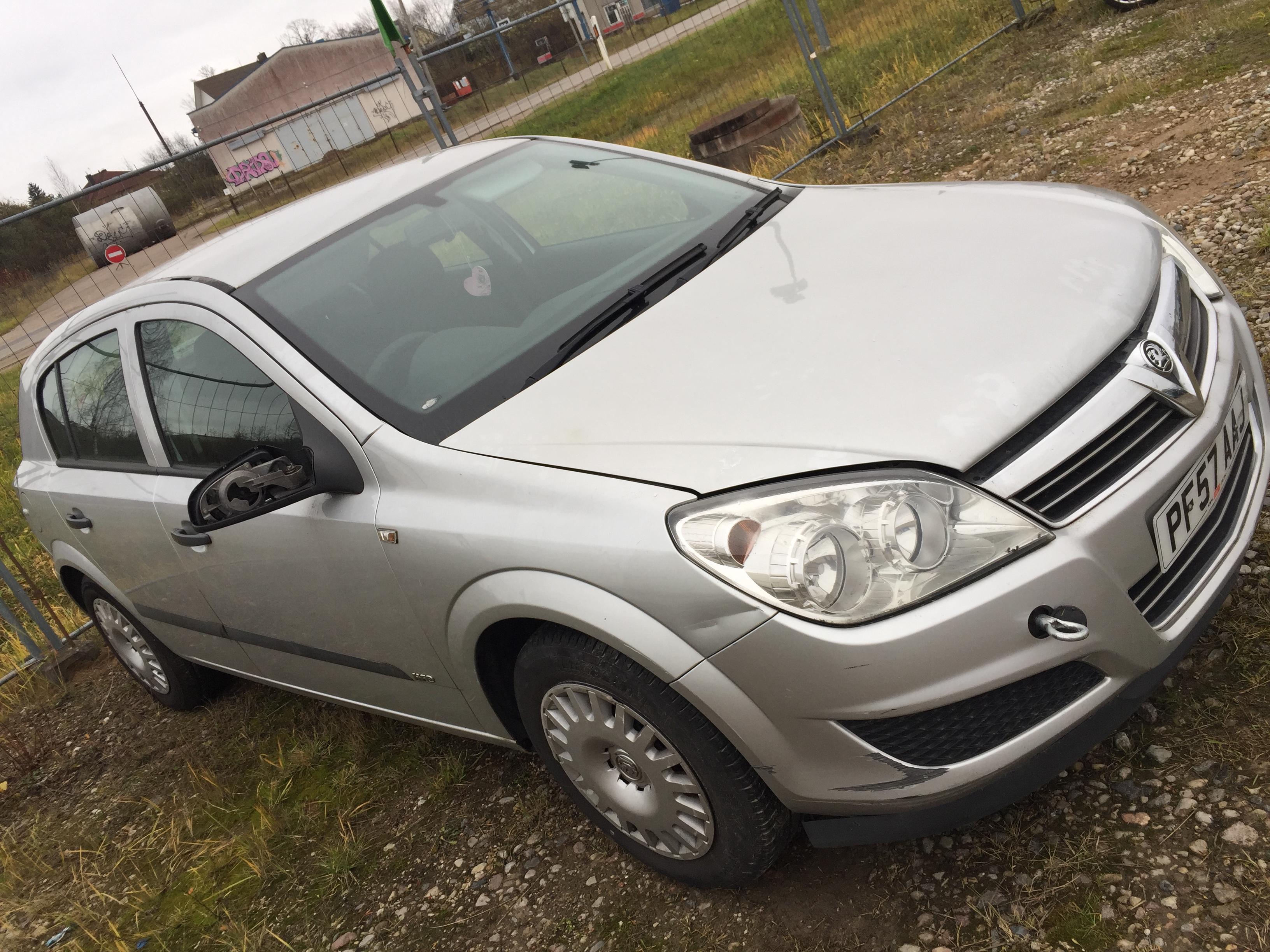 Opel ASTRA 2007 1.6 Mechaninė