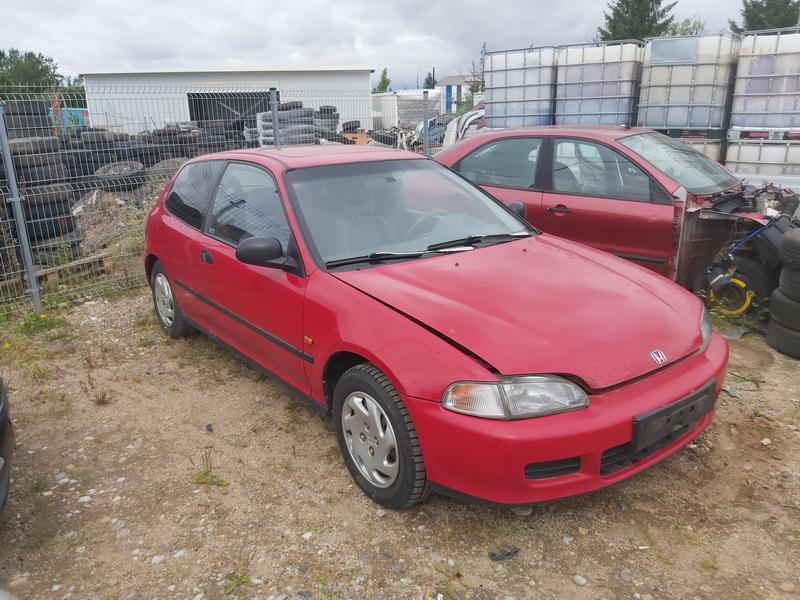 Used Car Parts Foto 1 Honda CIVIC 1993 1.5 Mechanical Hatchback 2/3 d. Red 2020-7-30 A5480