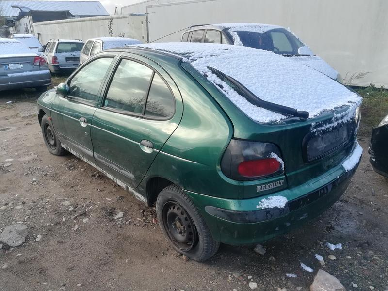 Naudotos automobiliu dallys Foto 7 Renault MEGANE 1998 1.6 Mechaninė Hečbekas 4/5 d. Zalia 2019-10-30 A4870