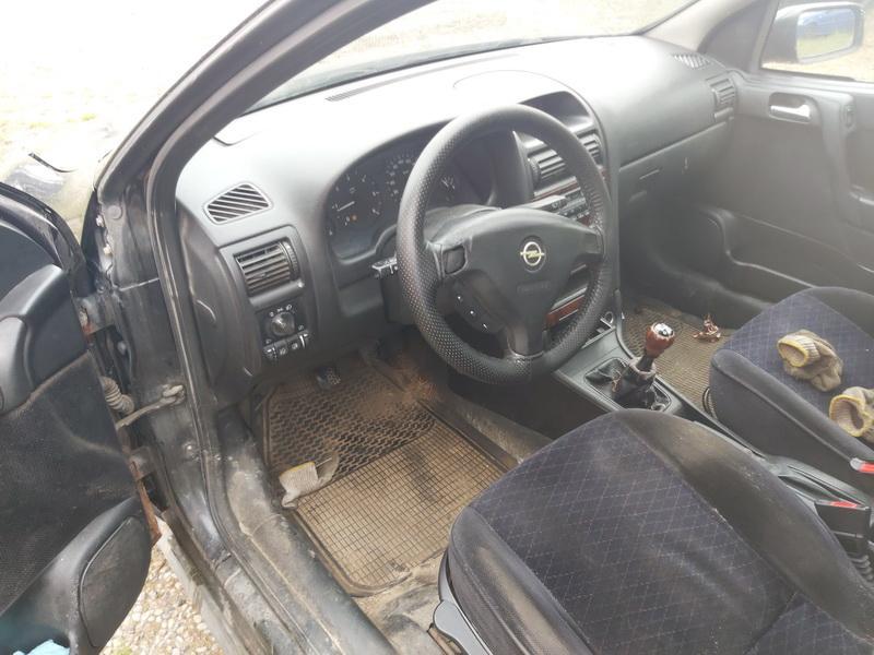 Naudotos automobilio dalys Opel ASTRA 1999 2.0 Mechaninė Hečbekas 4/5 d. Juoda 2020-9-07