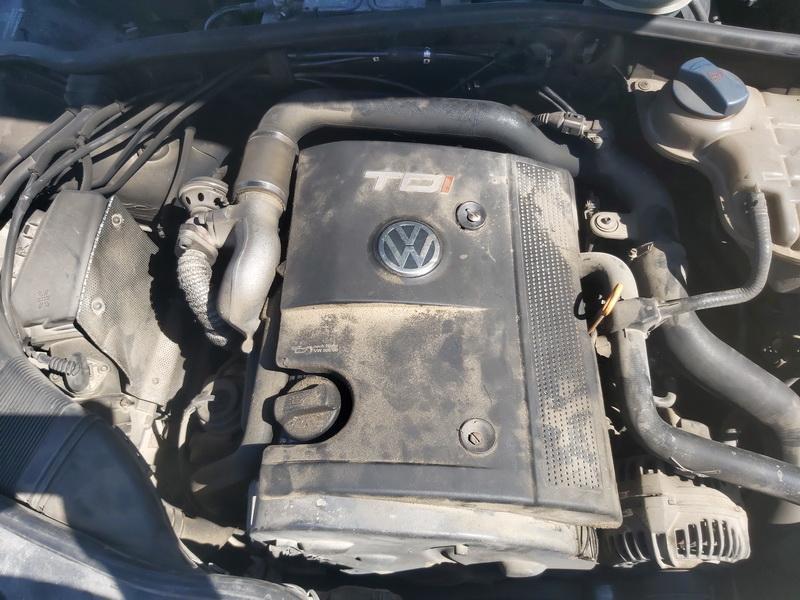 Подержанные Автозапчасти Foto 2 Volkswagen PASSAT 1999 1.9 машиностроение седан 4/5 d. синий 2020-7-29 A5477