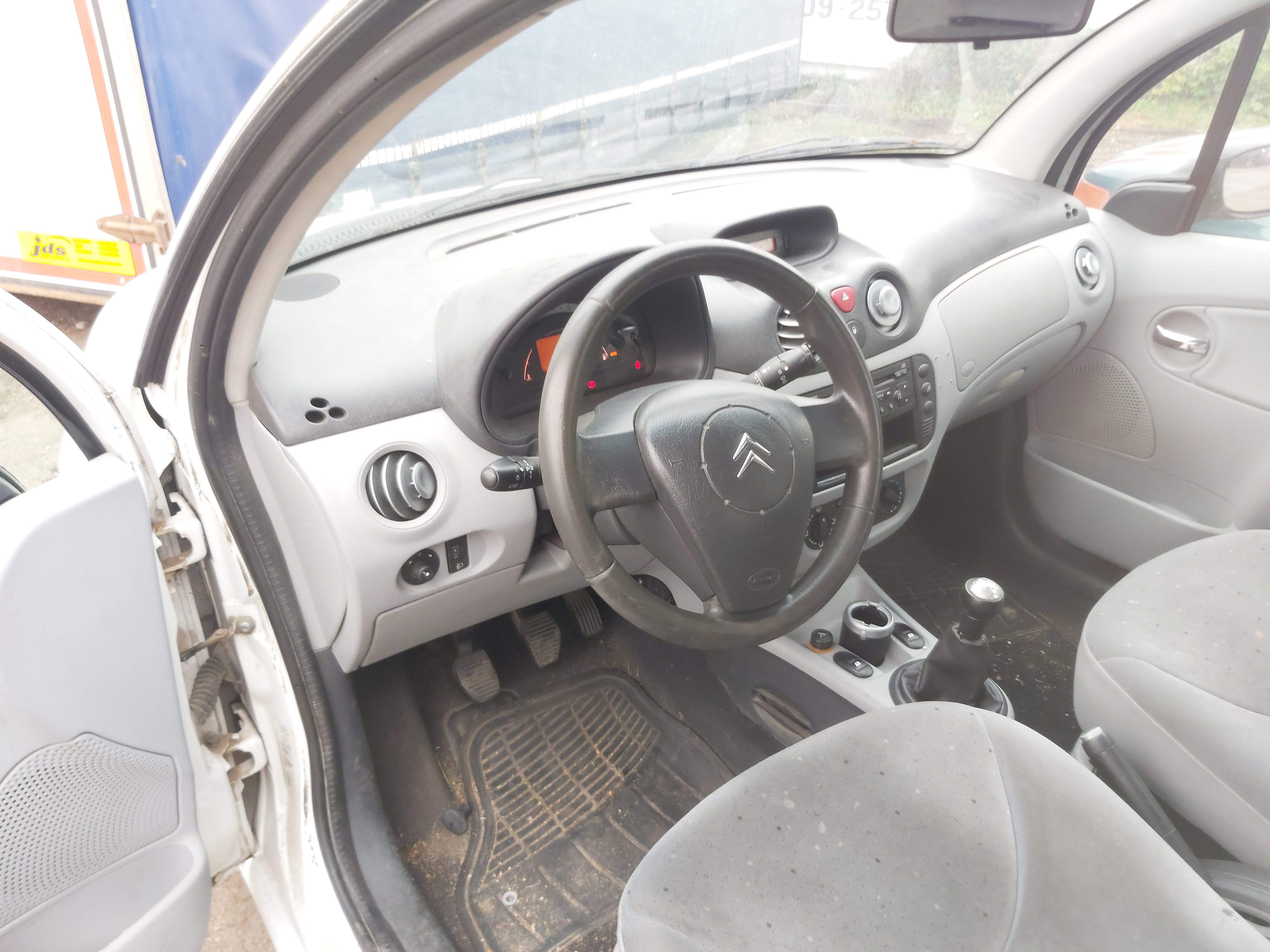 Naudotos automobilio dalys Citroen C3 2005 1.4 Mechaninė Hečbekas 4/5 d. Balta 2020-10-09