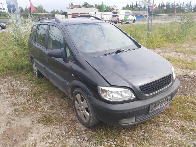Подержанные Автозапчасти Opel ZAFIRA 2000 2.0 машиностроение минивэн 4/5 d. черный 2020-8-12