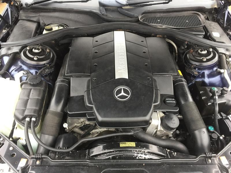 Подержанные Автозапчасти Foto 2 Mercedes-Benz CL-CLASS 2000 5.0 автоматическая Купе 2/3 d. синий 2018-11-07 A4175