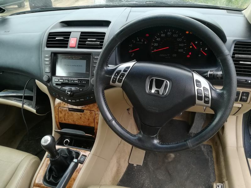 Naudotos automobilio dalys Honda ACCORD 2005 2.2 Mechaninė Sedanas 4/5 d. Pilka 2019-7-26