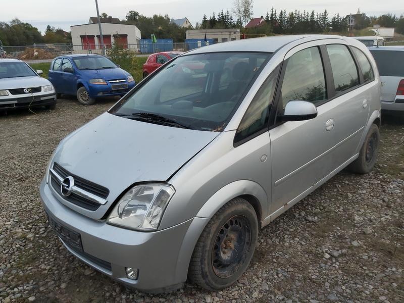 Naudotos automobiliu dallys Foto 4 Opel MERIVA 2004 1.7 Mechaninė Vienatūris 4/5 d. Pilka 2020-10-10 A5740