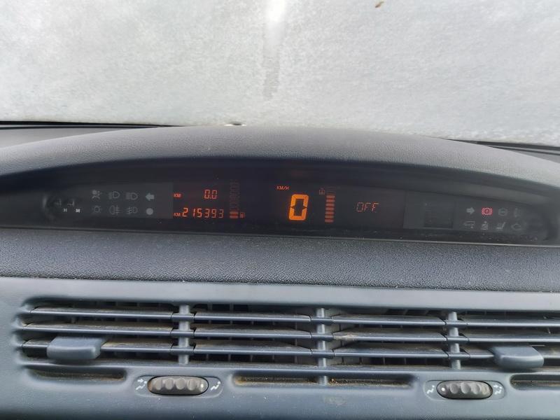 Naudotos automobiliu dallys Foto 7 Renault ESPACE 1999 2.0 Mechaninė Vienatūris 4/5 d. Sidabrine 2020-5-12 A5279