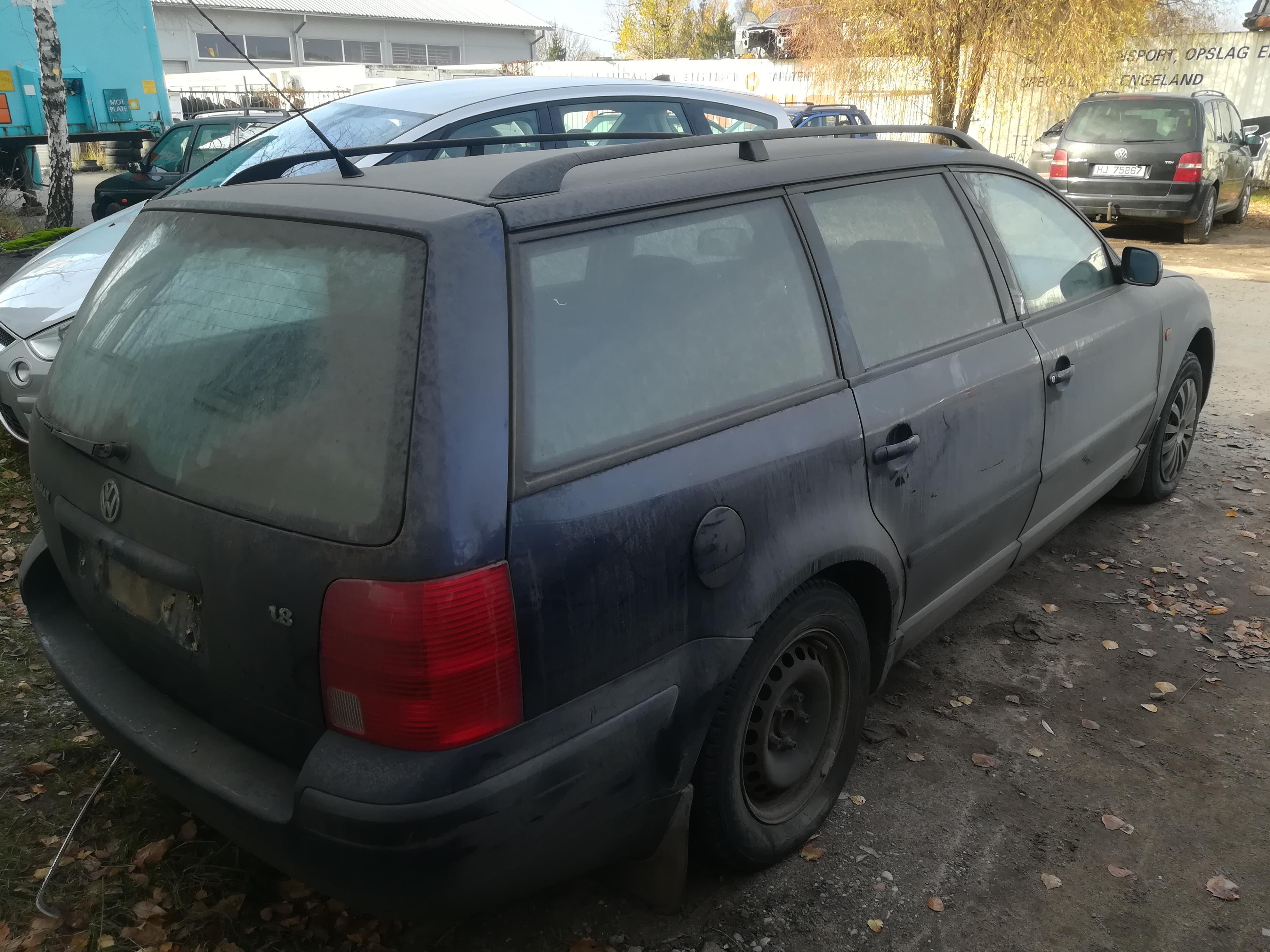 Naudotos automobiliu dallys Foto 8 Volkswagen PASSAT 1997 1.8 Mechaninė Universalas 4/5 d. Melyna 2019-10-24 A4850