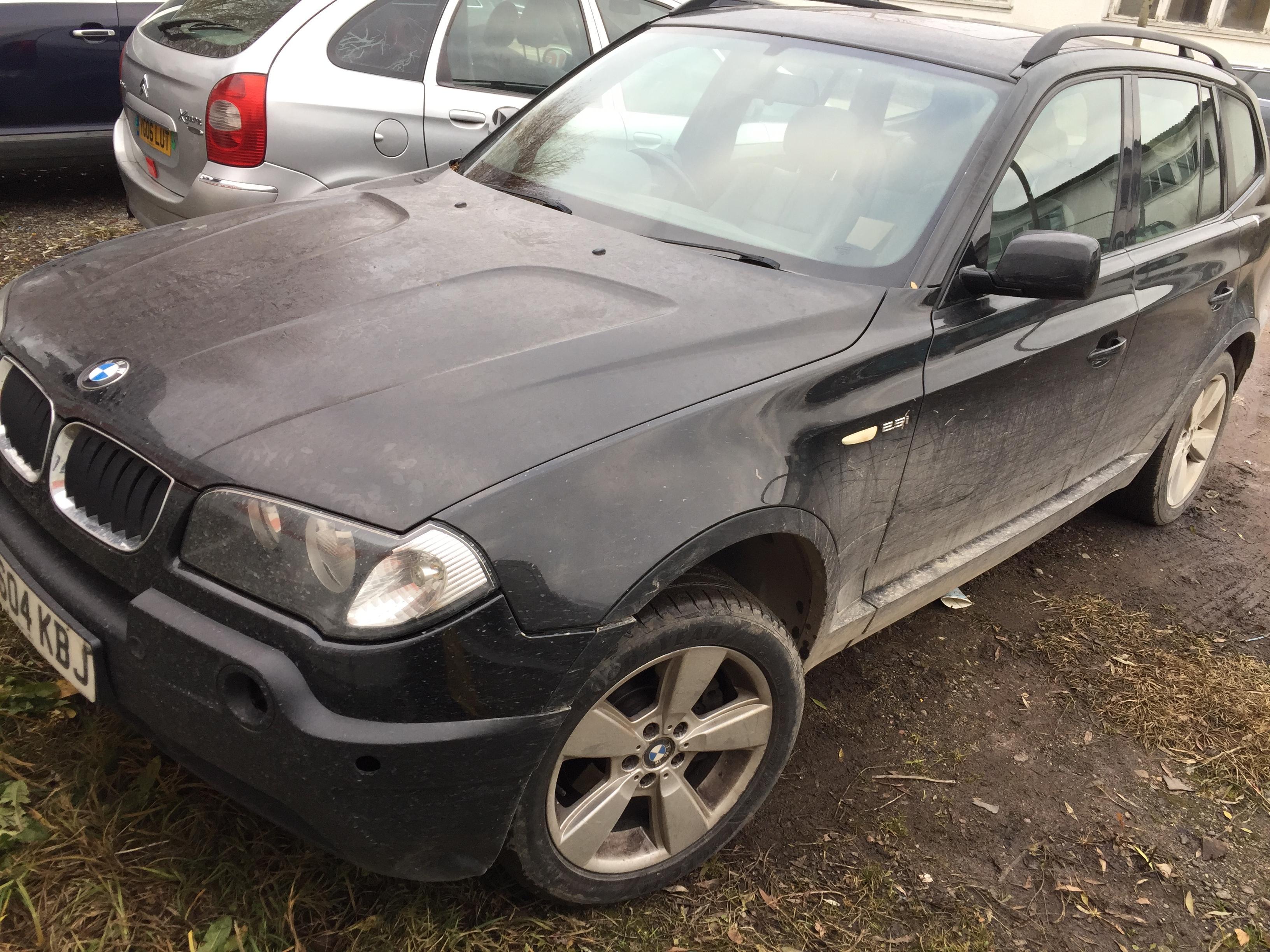 BMW X3 2004 2.5 Automatinė