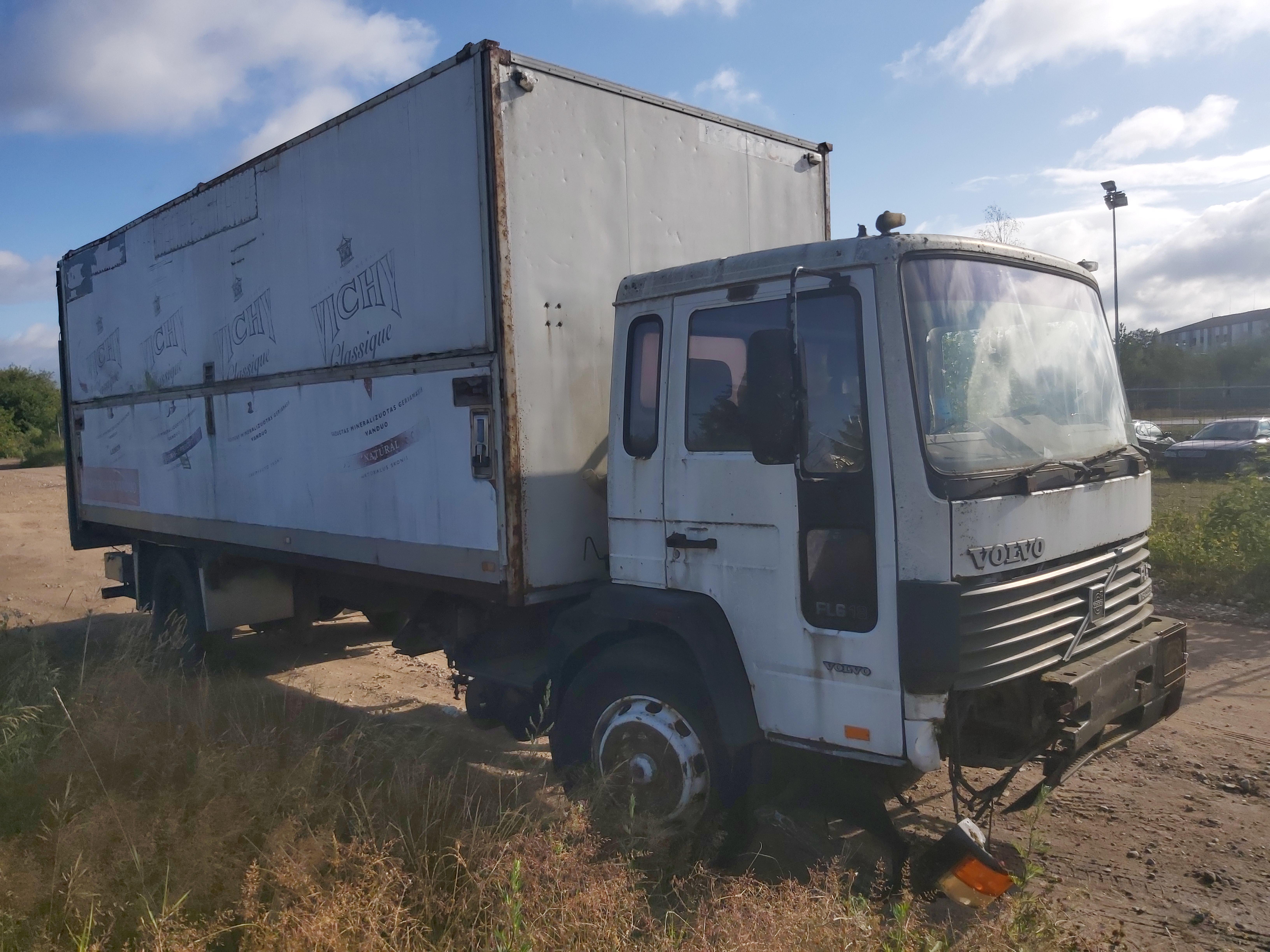 Naudotos automobilio dalys Truck - Volvo FL6 1996 0.0 Mechaninė Sunkvezimis 2/3 d. Balta 2020-7-23