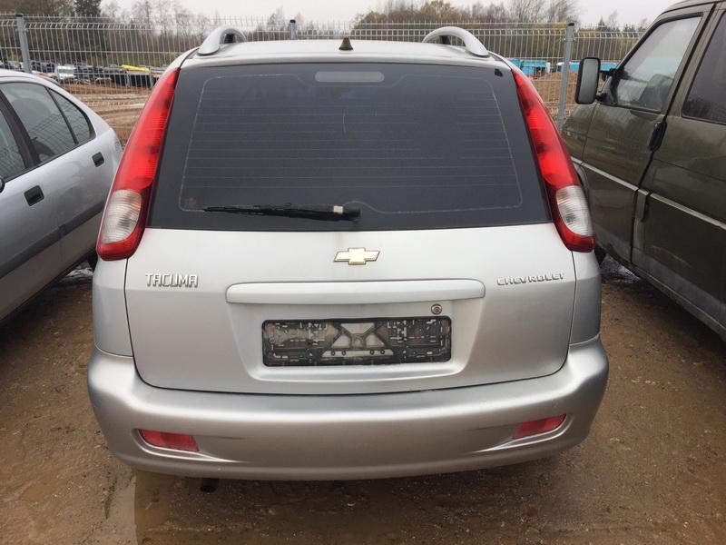 Naudotos automobiliu dallys Foto 2 Chevrolet TACUMA 2006 1.6 Mechaninė Vienatūris 4/5 d. Pilka 2018-10-25 A4147
