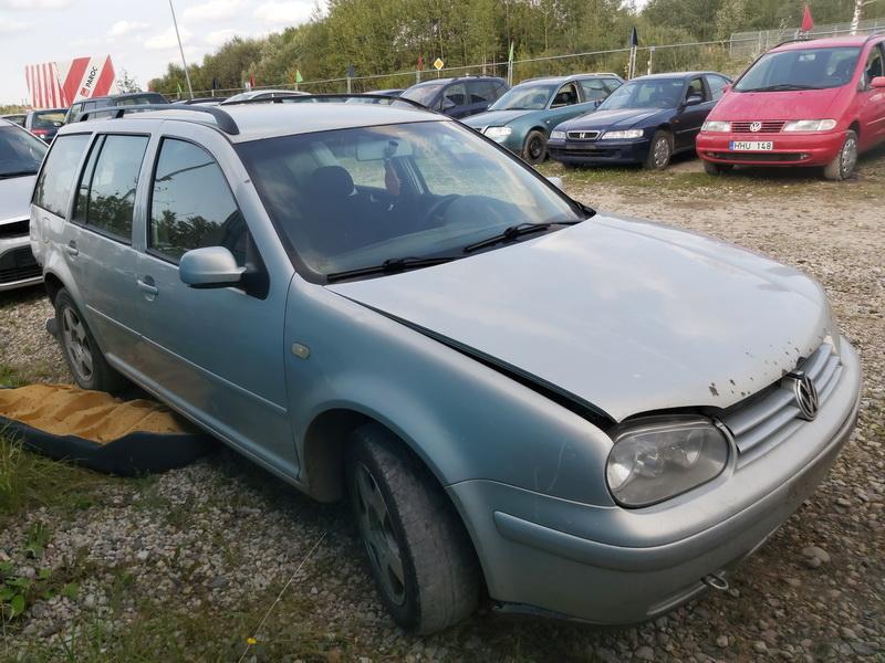 Naudotos automobilio dalys Volkswagen GOLF 2000 1.9 Mechaninė Universalas 4/5 d. Pilka 2020-9-18