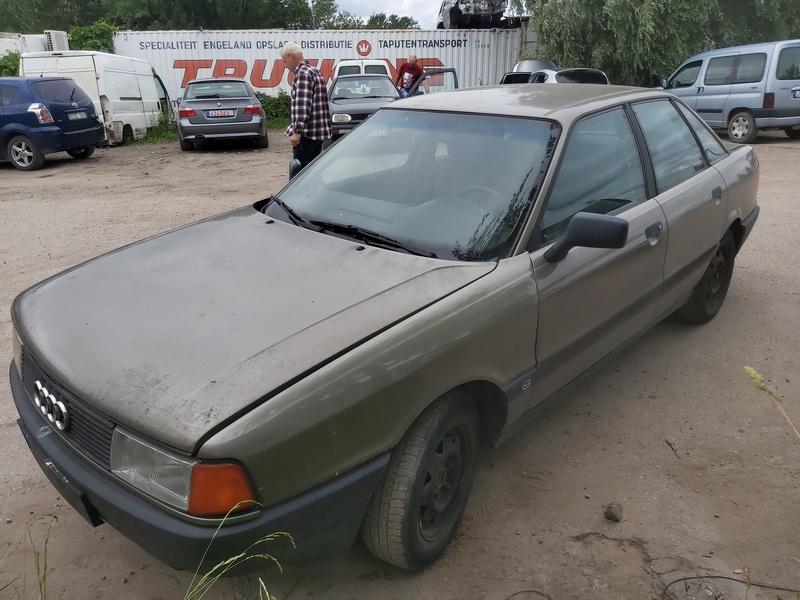 Naudotos automobiliu dallys Foto 4 Audi 80 1988 1.8 Mechaninė Sedanas 4/5 d. Zalia 2020-6-30 A5390