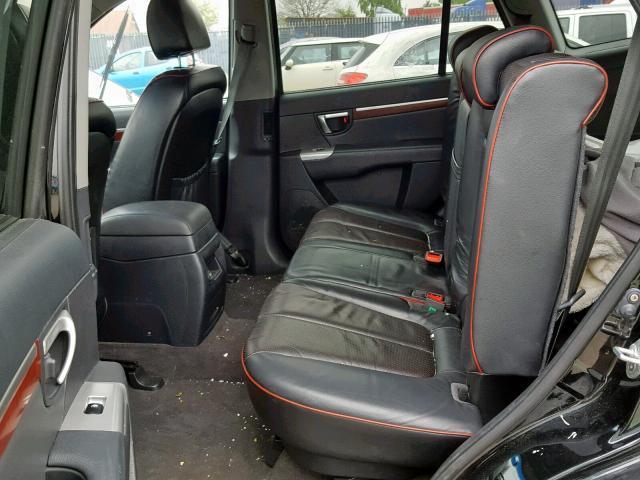 Naudotos automobilio dalys Hyundai SANTA FE 2009 2.2 Automatinė Visureigis 4/5 d. Juoda 2019-5-29