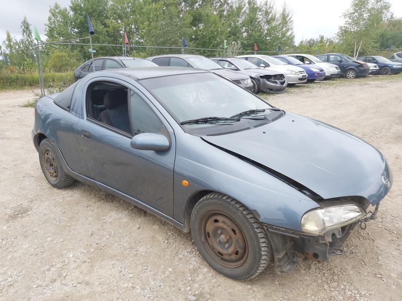Naudotos automobiliu dallys Foto 1 Opel TIGRA 1999 1.6 Mechaninė Hečbekas 2/3 d. Melyna 2020-9-12 A5658