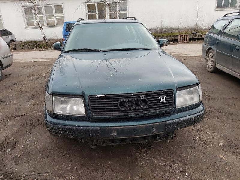 Naudotos automobilio dalys Audi 100 1994 2.5 Mechaninė Universalas 4/5 d. Zalia 2020-1-20