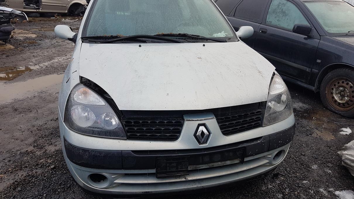 Naudotos automobilio dalys Renault CLIO 2002 1.5 Mechaninė Hečbekas 2/3 d. Pilka 2017-2-23