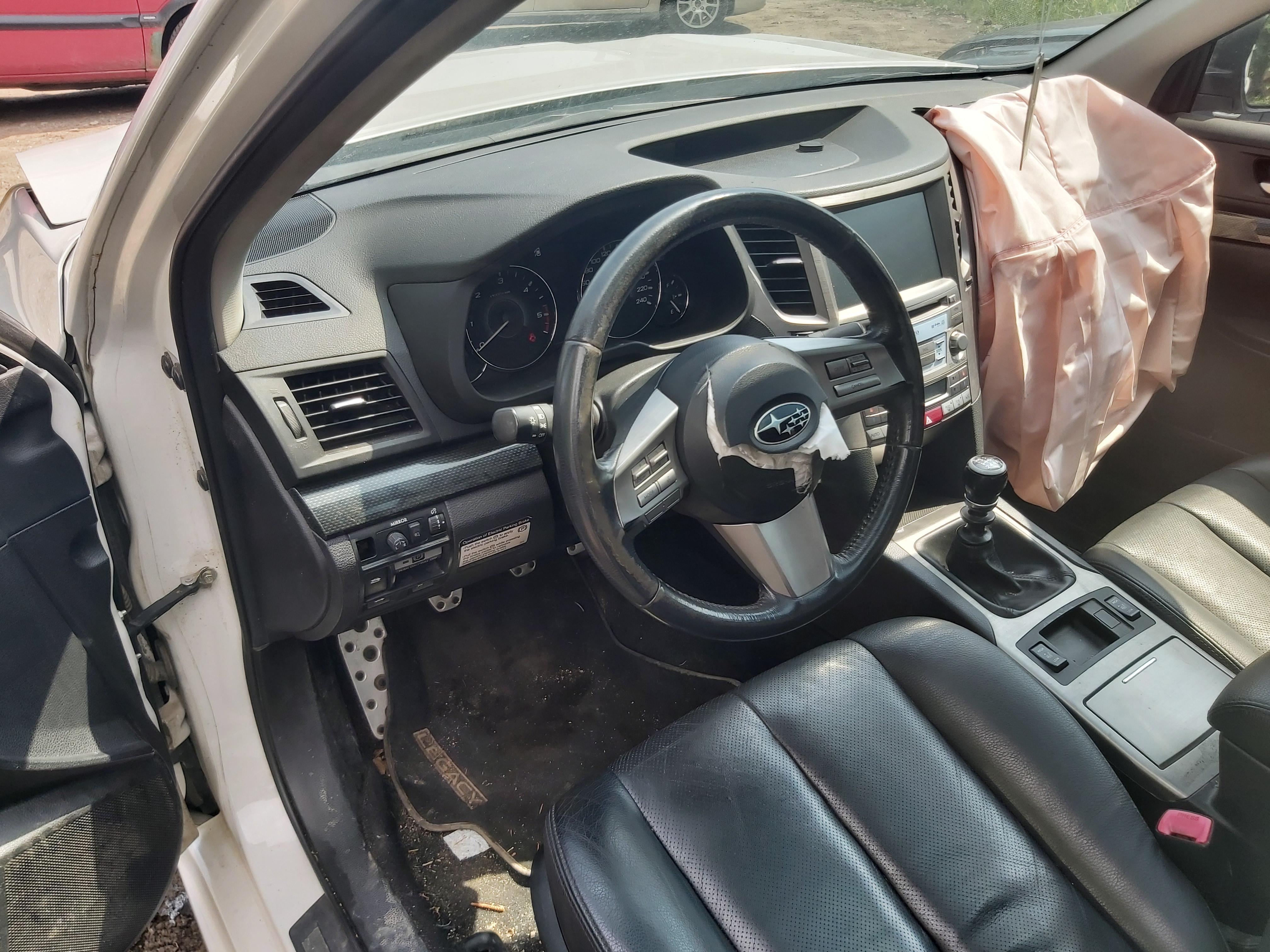 Naudotos automobilio dalys Subaru LEGACY 2009 2.0 Mechaninė Sedanas 4/5 d. Balta 2020-6-11