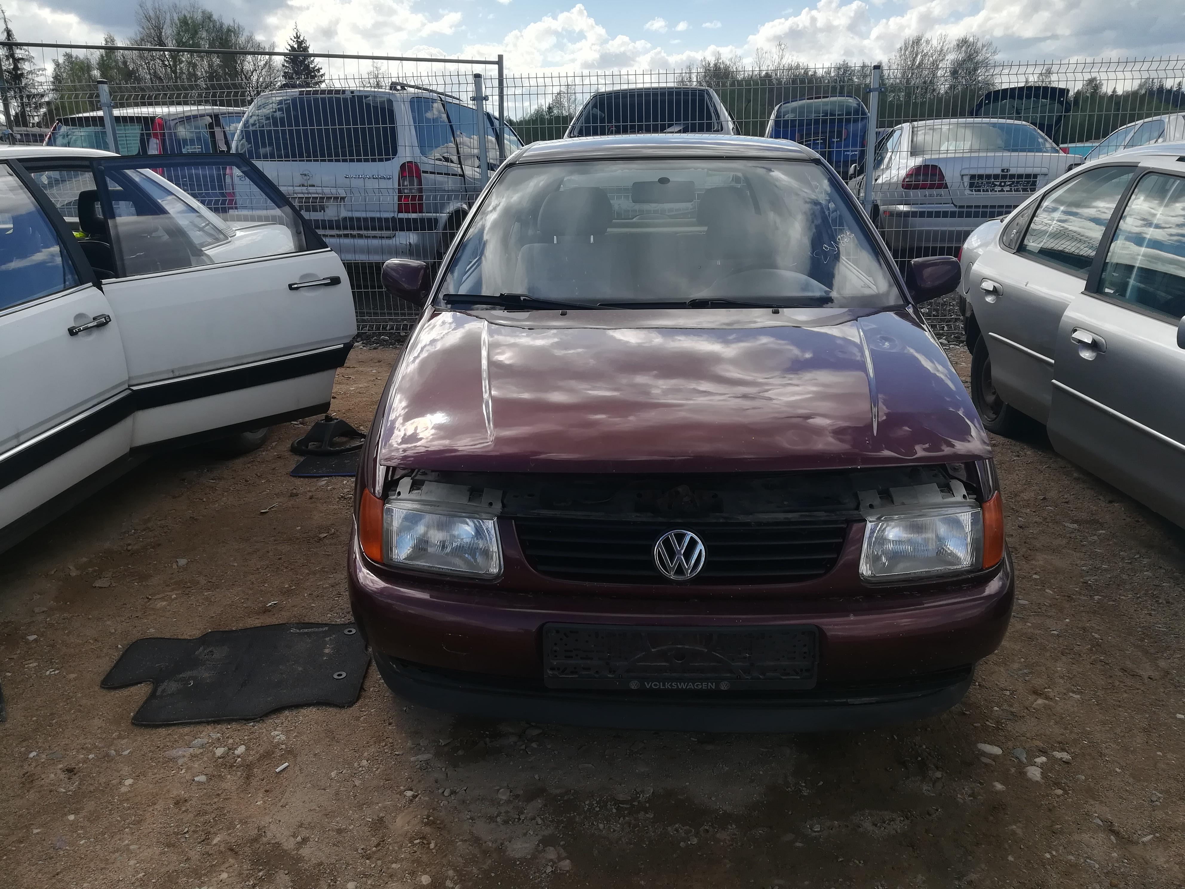 Naudotos automobilio dalys Volkswagen POLO 1997 1.7 Mechaninė Hečbekas 2/3 d. Raudona 2019-4-30