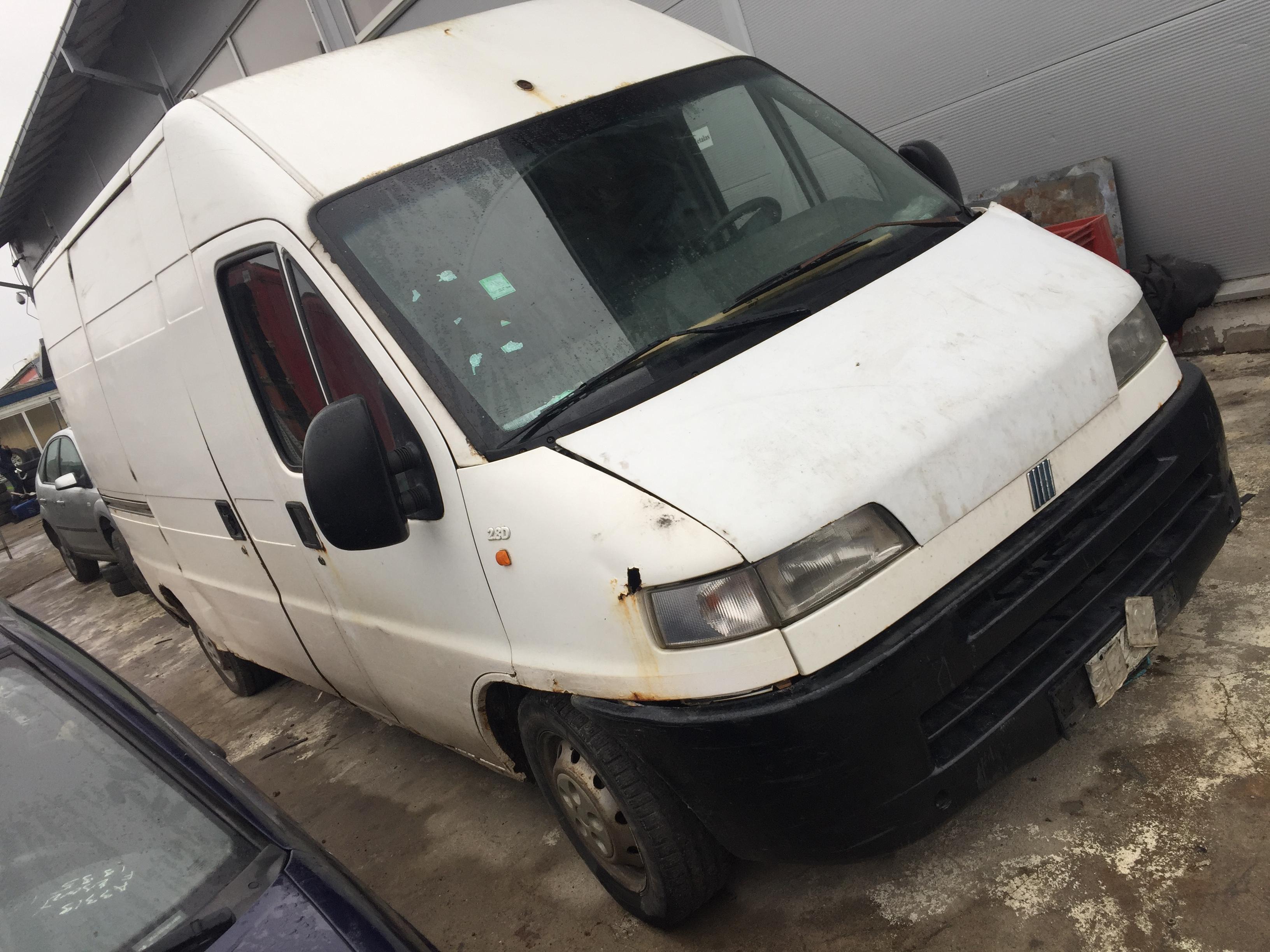 Naudotos automobilio dalys Fiat DUCATO 2001 2.8 Mechaninė Krovininis mikroautobusas 2/3 d. Balta 2017-11-07