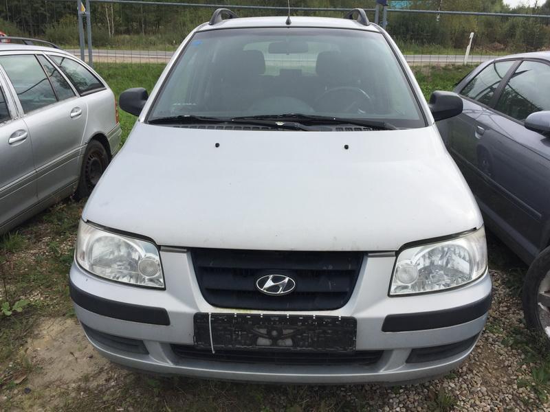 Naudotos automobilio dalys Hyundai MATRIX 2002 1.5 Mechaninė Vienatūris 4/5 d. Pilka 2018-9-17