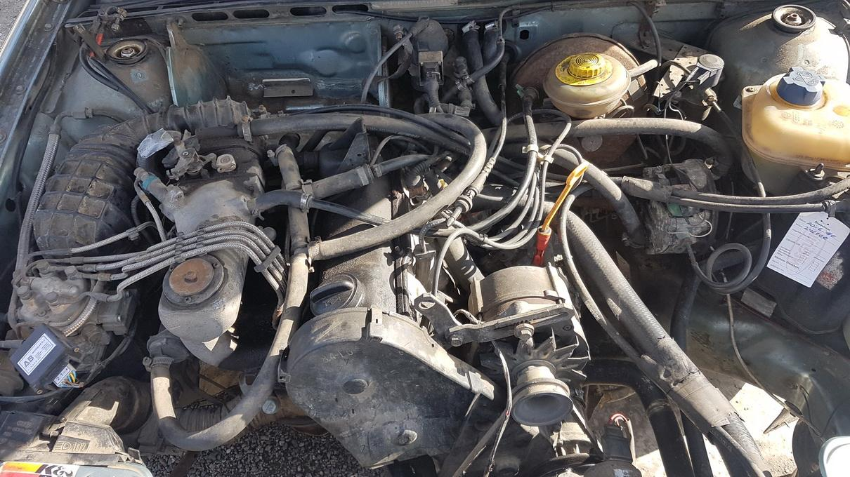 Naudotos automobiliu dallys Foto 8 Audi 80 1990 2.0 Mechaninė Sedanas 4/5 d. Zydra 2017-3-23 A3237
