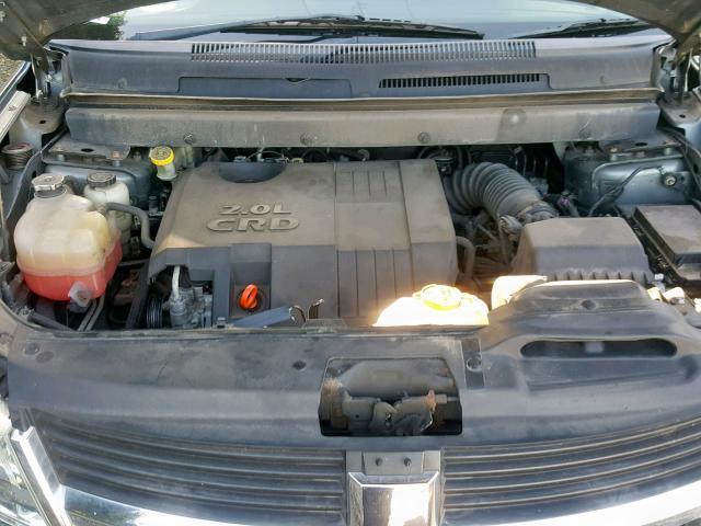 Naudotos automobiliu dallys Foto 8 Dodge JOURNEY 2009 2.0 Mechaninė Vienatūris 4/5 d. Pilka 2019-9-27 A4790