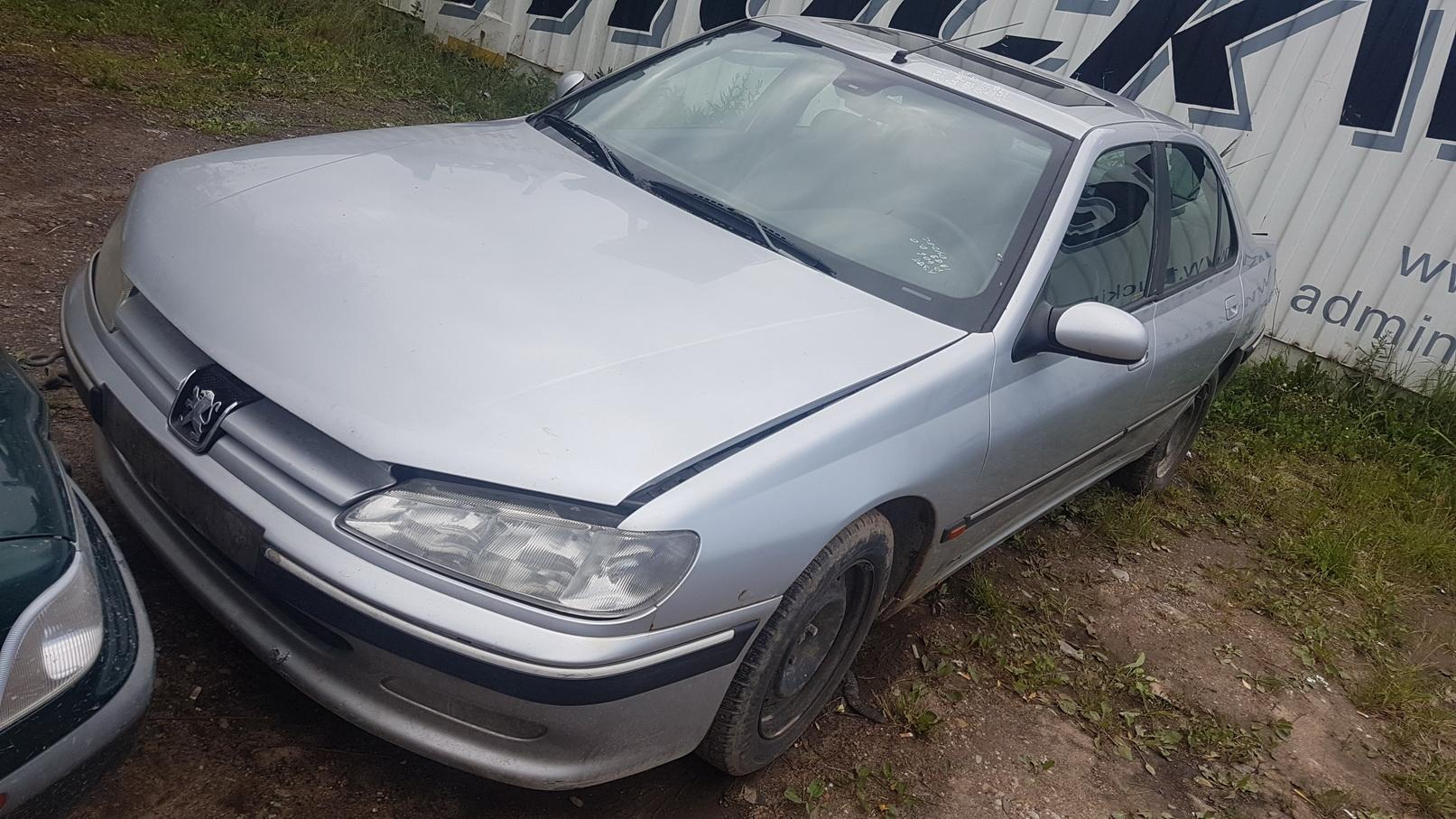 Naudotos automobilio dalys Peugeot 406 1999 2.0 Mechaninė Sedanas 4/5 d. Pilka 2018-7-03