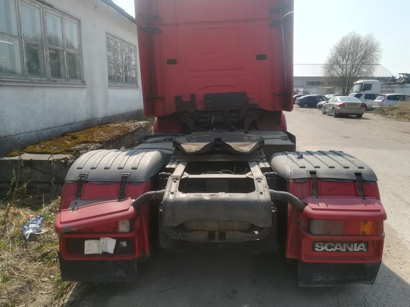 Naudotos automobiliu dallys Foto 8 Truck -Scania 124L 2001 11.7 Mechaninė Vilkikas 2/3 d. Raudona 2019-4-24 A4451