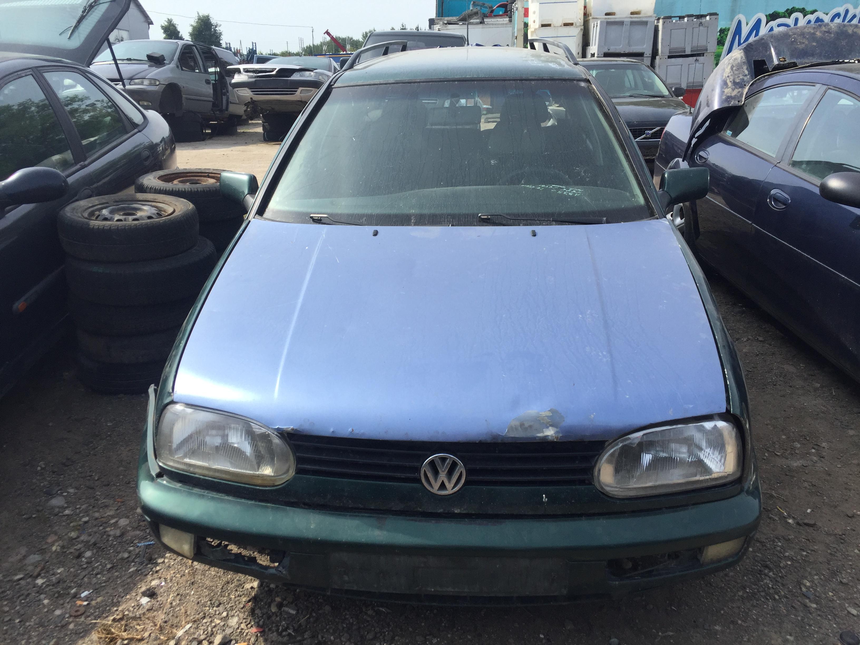 Naudotos automobiliu dallys Foto 3 Volkswagen GOLF 1998 1.9 Mechaninė Universalas 4/5 d. Zalia 2017-8-10 A3396