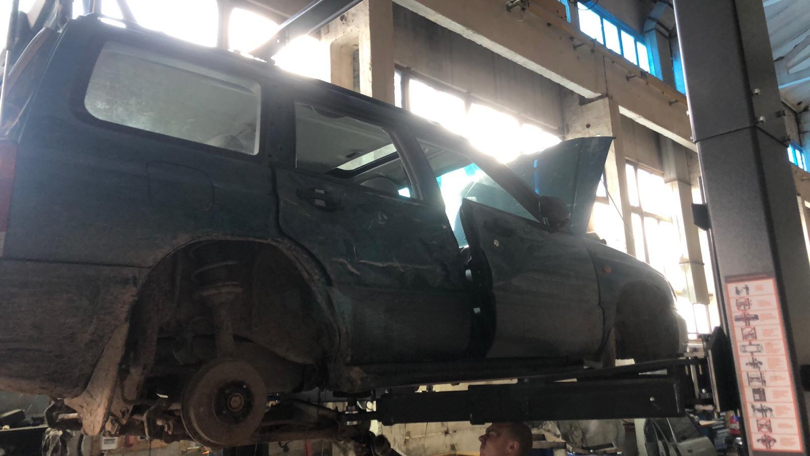 Naudotos automobiliu dallys Foto 2 Subaru FORESTER 1999 2.0 Mechaninė Visureigis 4/5 d. Zalia 2020-7-13 A5418
