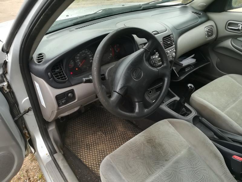 Naudotos automobilio dalys Nissan ALMERA 2002 2.2 Mechaninė Sedanas 4/5 d. Pilka 2019-10-05