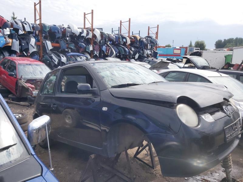 Naudotos automobilio dalys Volkswagen LUPO 2001 1.2 Automatinė Hečbekas 2/3 d. Juoda 2020-8-04