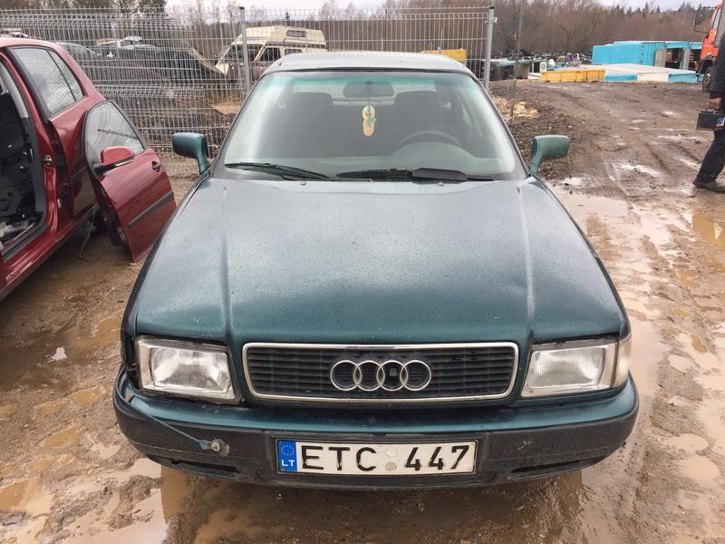 Naudotos automobilio dalys Audi 80 1993 2.0 Mechaninė Sedanas 4/5 d. Zalia 2019-2-28