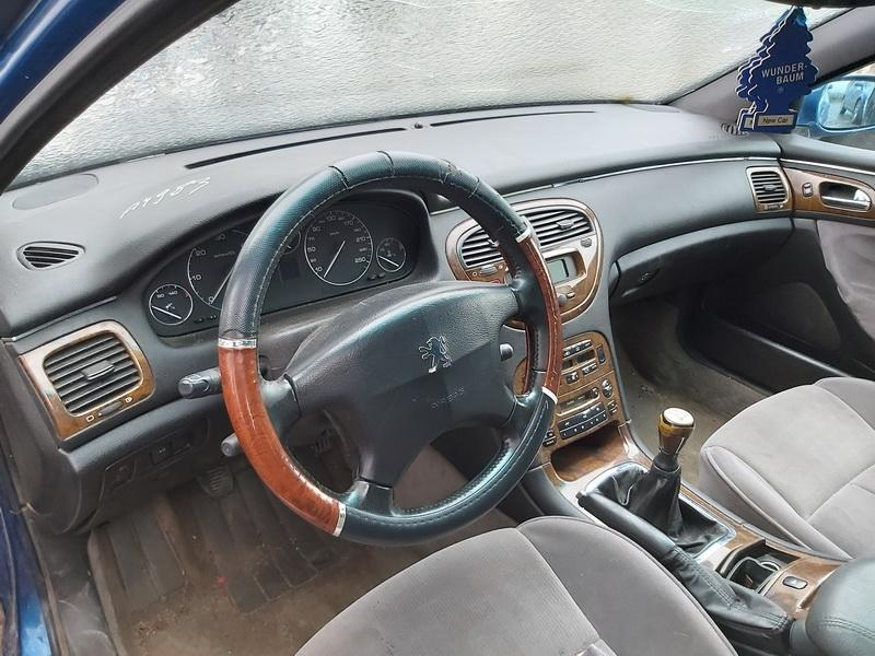 Naudotos automobiliu dallys Foto 4 Peugeot 607 2000 2.2 Mechaninė Sedanas 4/5 d. Melyna 2019-12-28 A4983