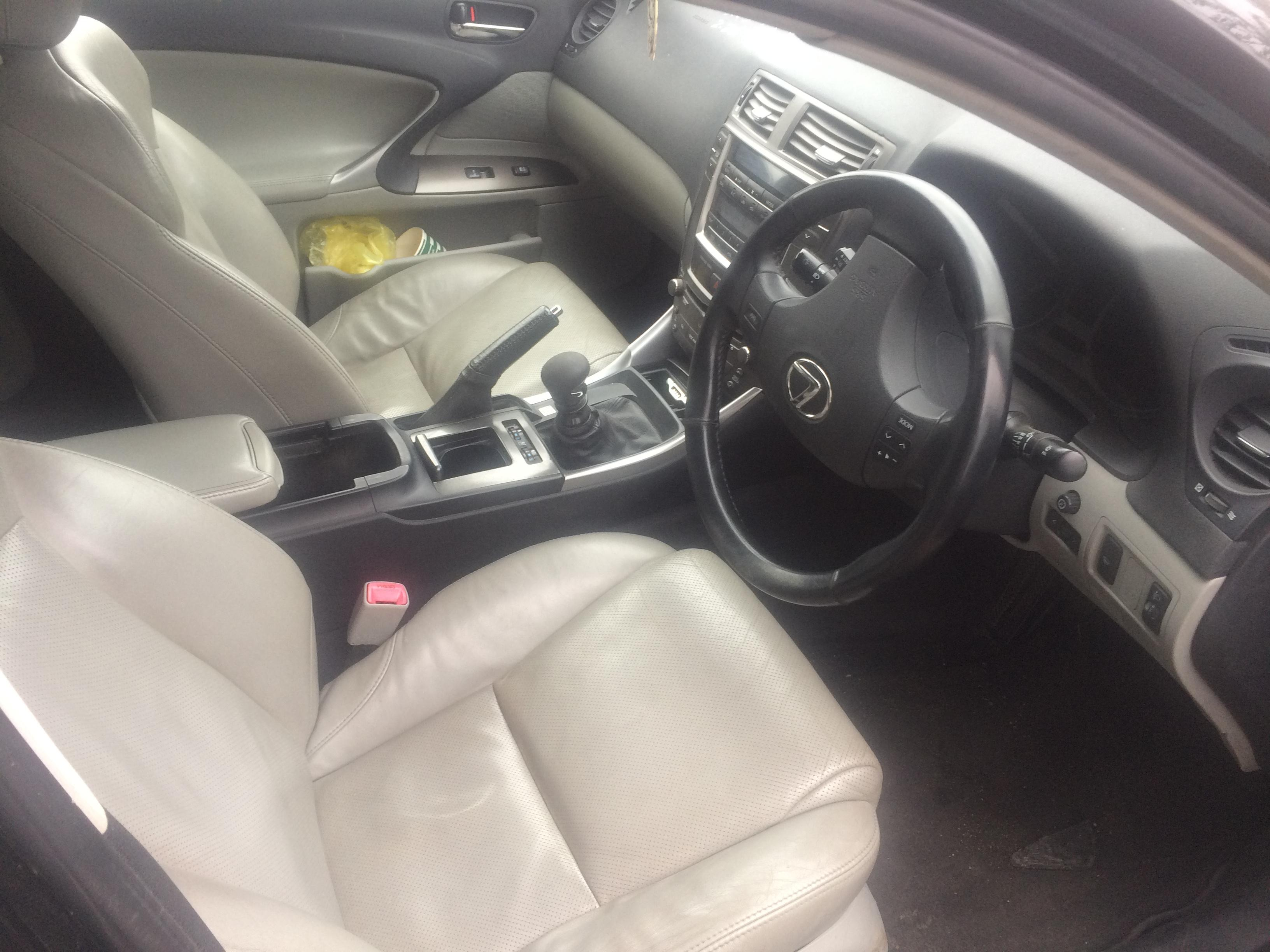 Naudotos automobilio dalys Lexus IS - CLASS 2006 2.2 Mechaninė Sedanas 4/5 d. Juoda 2018-7-11