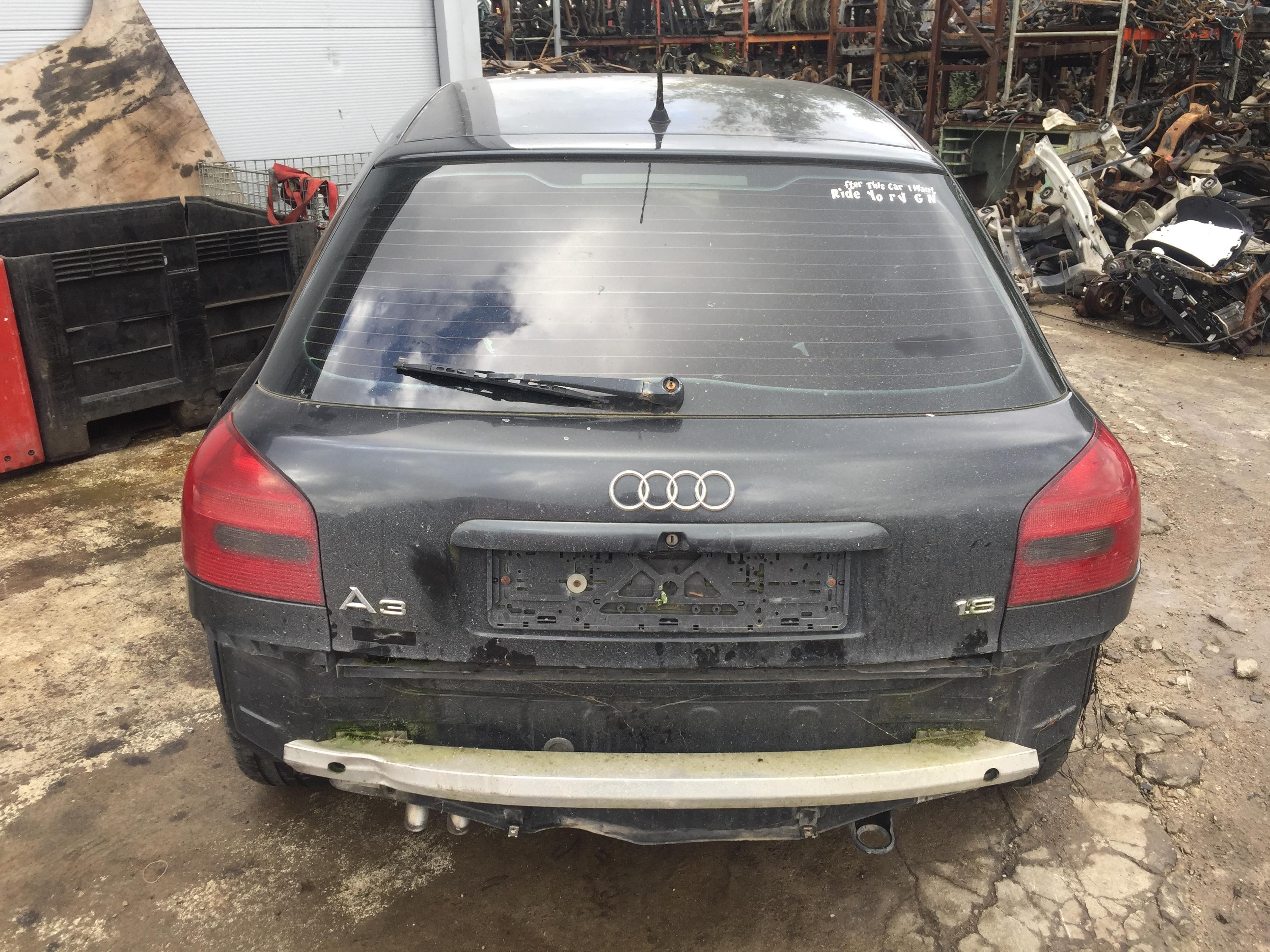 Naudotos automobilio dalys Audi A3 1996 1.8 Mechaninė Hečbekas 2/3 d. Juoda 2017-9-18