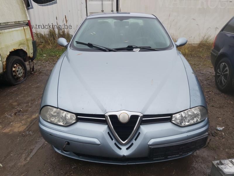 Подержанные Автозапчасти Foto 2 Alfa-Romeo 156 2002 1.9 машиностроение седан 4/5 d. синий 2020-11-18 A5832