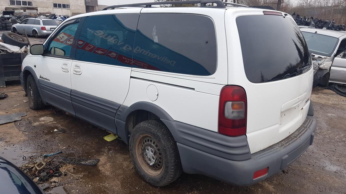 Naudotos automobilio dalys Pontiac MONTANA 1998 3.4 Automatinė Vienatūris 4/5 d. Balta 2017-2-28