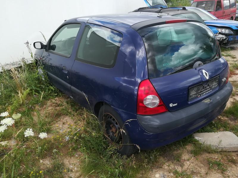 Naudotos automobiliu dallys Foto 7 Renault CLIO 2002 1.2 Mechaninė Hečbekas 2/3 d. Melyna 2019-7-03 A4603