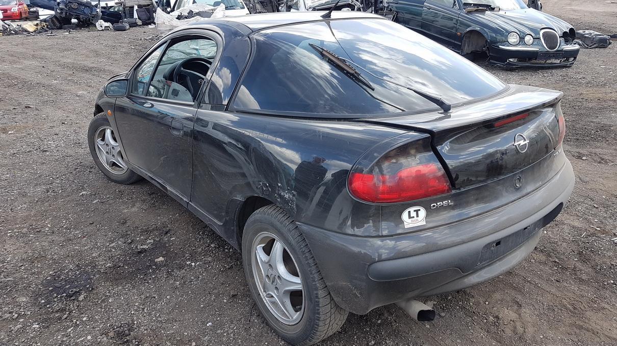 Naudotos automobilio dalys Opel TIGRA 1997 1.4 Mechaninė Hečbekas 2/3 d. Juoda 2017-5-09