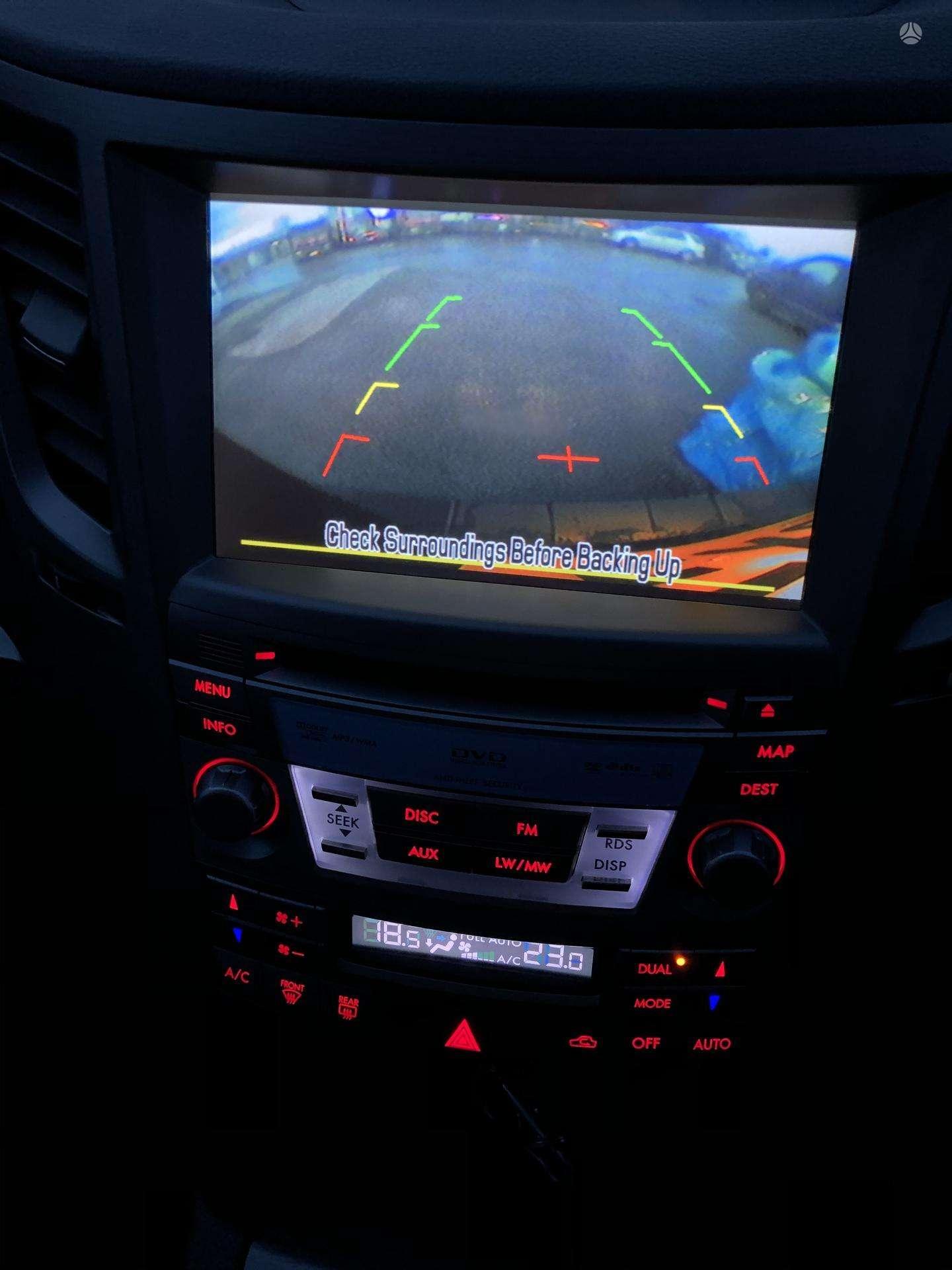 Naudotos automobiliu dallys Foto 2 Subaru OUTBACK 2011 2.0 Mechaninė Universalas 4/5 d. Juoda 2020-3-19 A5144