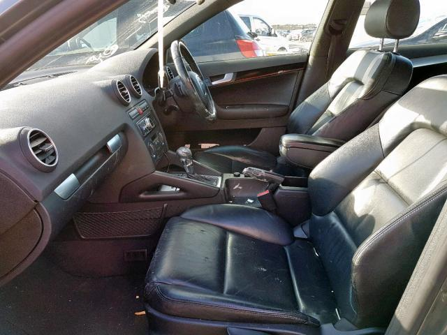 Used Car Parts Audi A3 2005 2.0 Automatic Hatchback 4/5 d. Grey 2019-11-15