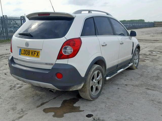 Naudotos automobiliu dallys Foto 4 Opel ANTARA 2008 2.0 Mechaninė Visureigis 4/5 d. Balta 2019-6-10 A4552